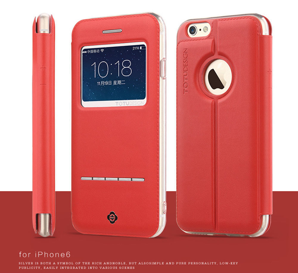 The Last One (Red) for iPhone 6 6s Case 4.7 Inch Luxury Magnetic Flip Leather Stand Skin Hard Case Cover(China (Mainland))