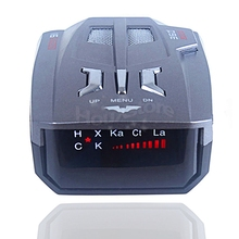 V7 Upgrade Version V9 360 Auto Radar Detector Russian/English warning vehicle speed control Radar detector Free Shipping