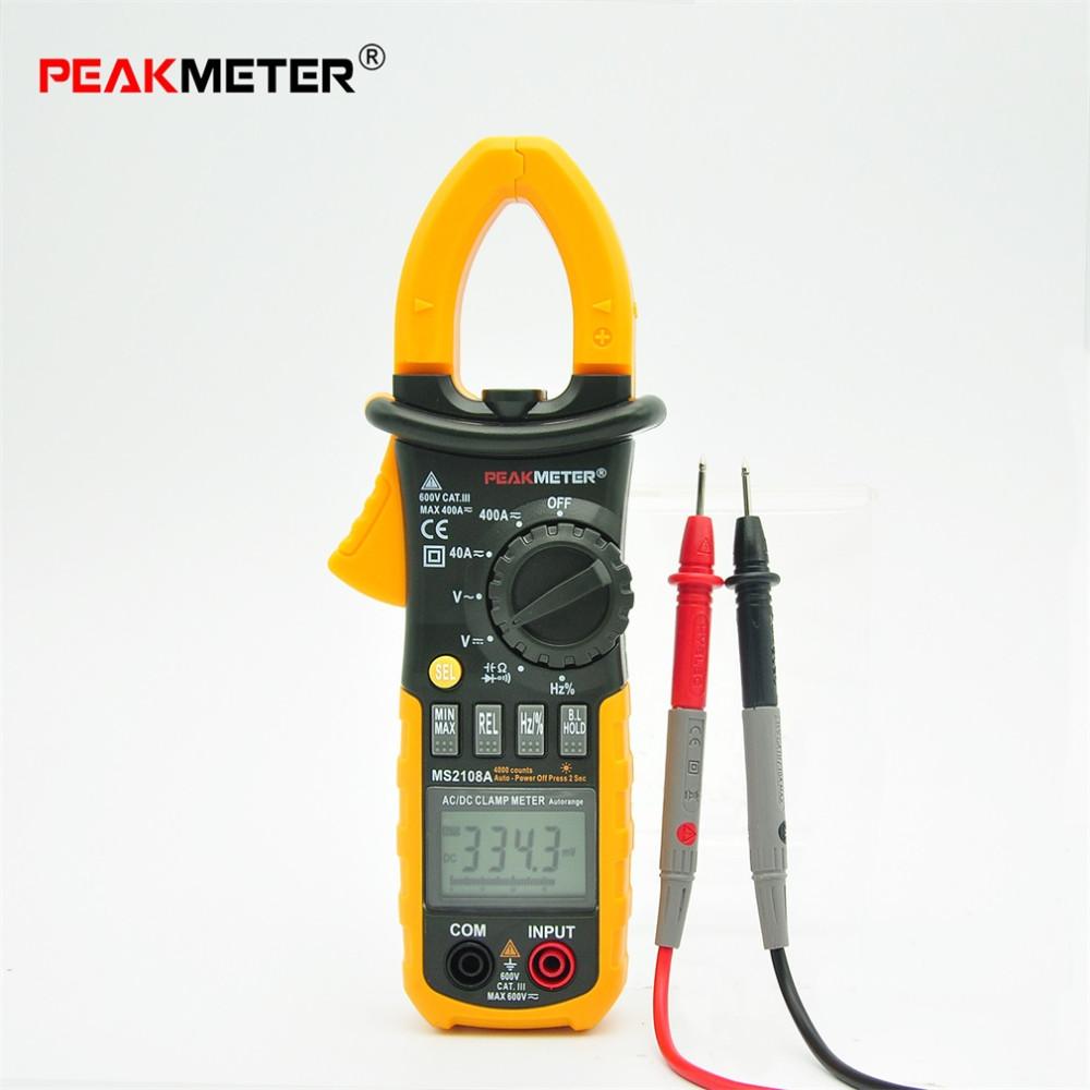 Clamp Meter Brands : Portable hyelec digital clamp meter multimeter ac dc