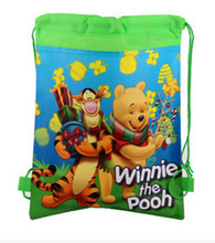 Despicable Me Little Baby Winnie Bear Kids Cartoon Drawstring Bag Children Backpacks School Bags Mochila Infantil