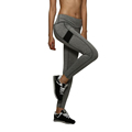 New Arrival 1pc Gray Women Tight Pants Quick Dry Fitness Trousers