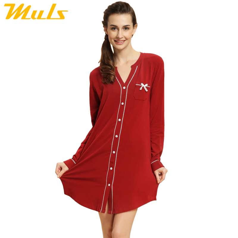Nightshirt pattern fleece zipper robe fun knee sleep night shirt qianxiu brand sleepwear nightgown clothing for home female 1537(China (Mainland))