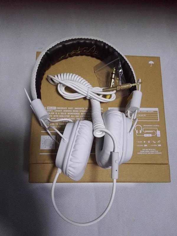 3 5 jack MAJOR Noise Isolating Deep Bass DJ Studio Headphone MAJOR Headset with Mic for