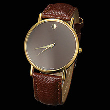 New 2015 Watch Famous Brand Geneva Cheap Unisex Watch Men Wristwatches Women Wristwatch Fashion Wrist Leather