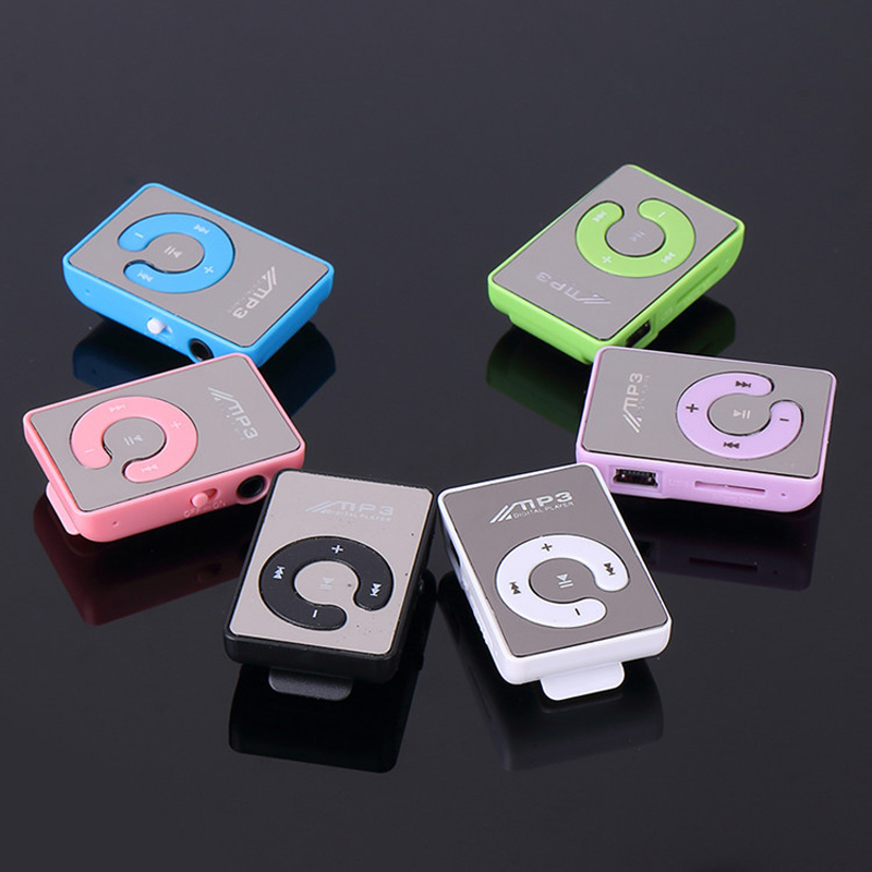 2017 New Mini Clip USB Digital Mp3 Music Player Sport MP3 With Micro SD TF Card Slot MP3 Player ( Only a Mp3+USB )