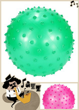 Inflatable ball diameter 16 cm thorny thickening ball is suitable for children's play and women exercise fitness inflatable ball(China (Mainland))