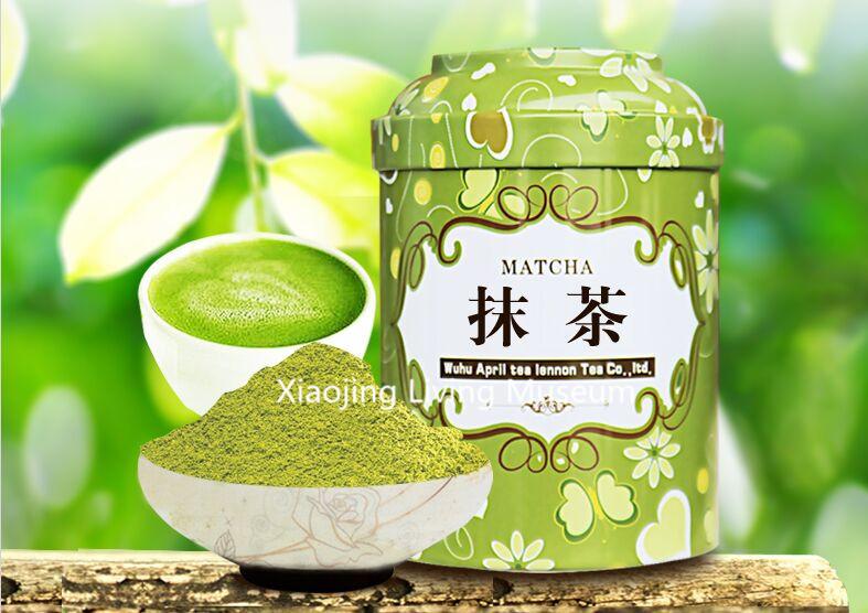 High grade china matcha green tea powder 100% natural organic matcha tea young and beautiful and slimming 100g free shipping