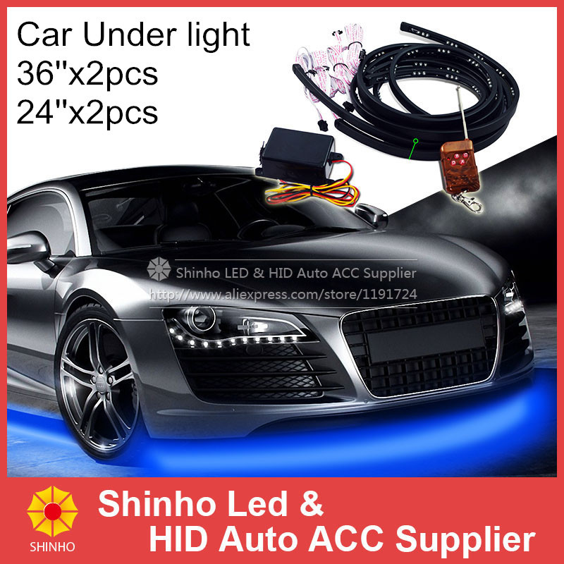 High Power 10W RGB 7 Color Flash Strobe Underbody Flexible Glow System Tube LED Neon Strip Light LED Under Car Lighting(China (Mainland))