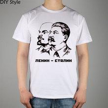 Buy Lenin Stalin t-shirt Top Lycra Cotton Men T Shirt for $9.63 in AliExpress store