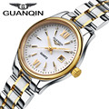 Fashion GUANQIN Watch Women Classic Gold Quartz Stainless Steel Full Steel Wristwatch Montre Femme Relojes Mujer