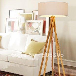 2012 nieuwe ontworpen goedkope houten standaard lamp voor slaapkamer ...