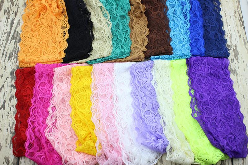 Amazing Fashion Women Headwear Twist Sport Yoga Lace Headband Turban Headscarf Wrap 20PCS/lot(China (Mainland))