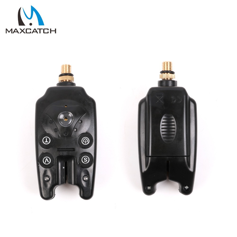 Maxcatch 2Pcs Carp Fishing Bite Alarm With a Battery Carp Fishing Tackle Box(China (Mainland))