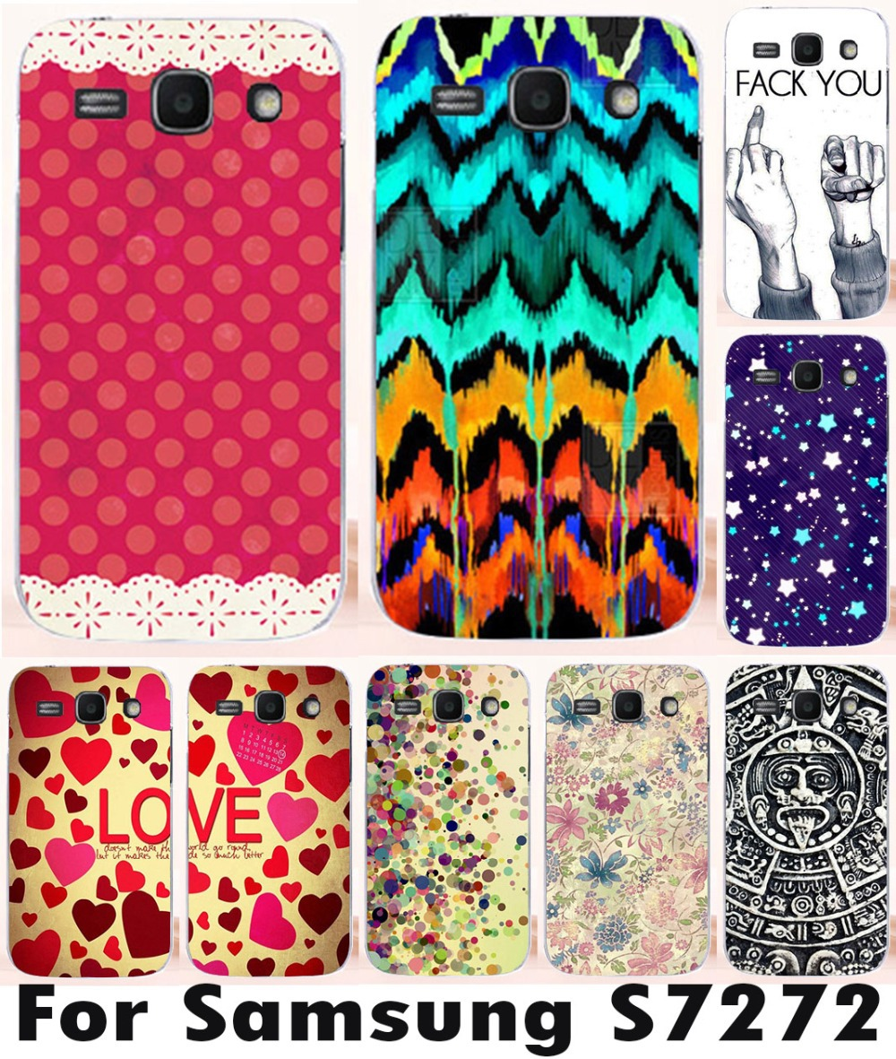 For Samsung Galaxy Ace 3 III S7270 S7272 brilliant fashional phone cover case painted skin shell mobile phone case free ship(China (Mainland))