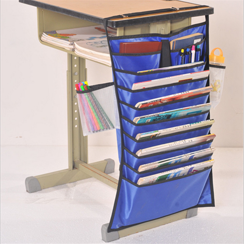 2016 Sofa Chair Table Hanging Storage Bag Students book bags Desk hanger rack Stationery Box Bookends Bathroom Cosmetic BAG(China (Mainland))