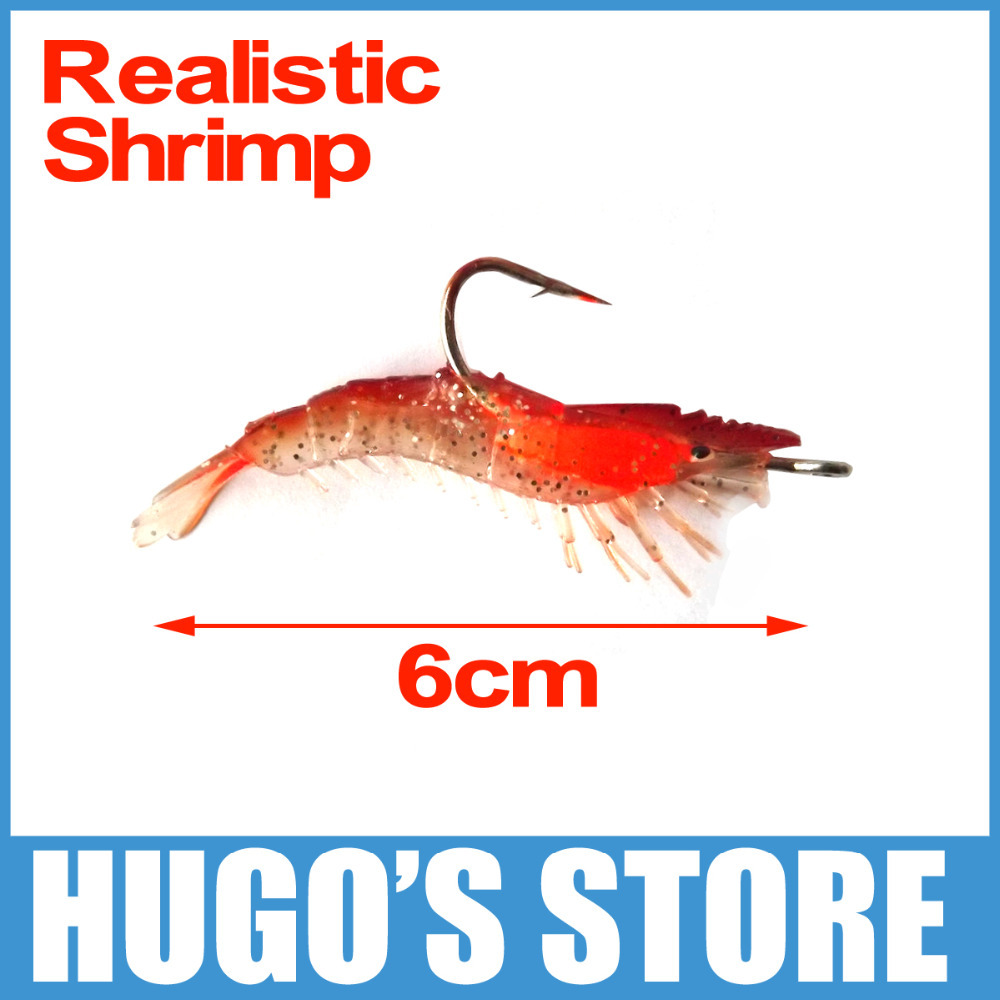 300PCS 10cm X 3g Soft Shrimp Lure Artificial Fishing Baits Darkness Luminous Soft Shirmp Baits with Hook Fishing Lures Wholesale<br><br>Aliexpress