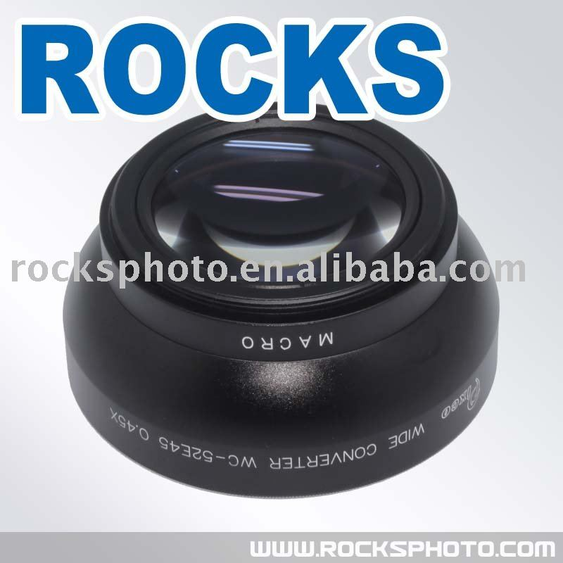 Pixco 52mm 52 mm 0.45x Wide-Angle Lens With Macro Lens<br><br>Aliexpress