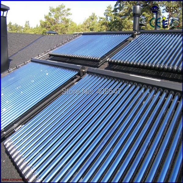 EN12975 58mm heat pipe solar thermal collector(China (Mainland))