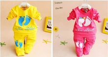 Baby Boy /Girl Clothes Brand Girls Clothing Set 2016 New Kids Clothes Unisex Children Clothing Suit Hot Quality Roupa Infantil(China (Mainland))
