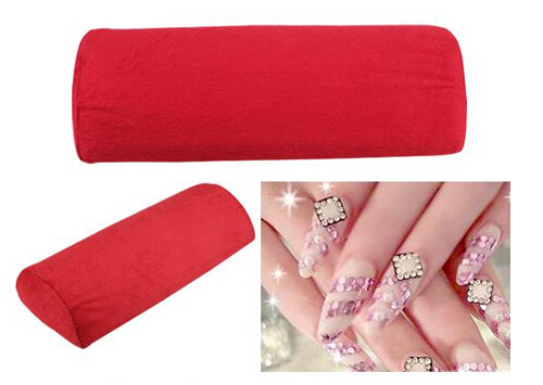 New Soft Hand Cushion Pillow Rest Nail Art Manicure Art Cube Accessory free service(China (Mainland))