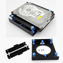 "3 months warranty 3.5"" to 5.25"" Hard Disk Shock Absorption Bracket support 8cm Fan(China (Mainland))"