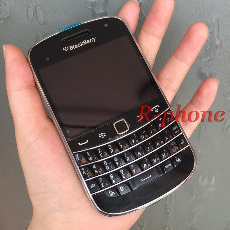 Refurbished Original BlackBerry 9900 Bold Mobile Phone Smartphone Unlocked 5MP 3G WIFI Bluetooth Cellphone(China (Mainland))