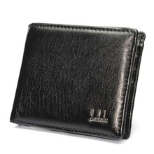 Hot Sale Casual Wallets For Men New Design GOOD Leather Purse Man Wallet With Coin Bag Fine Workmanship 22×9.5cm