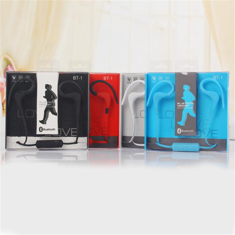 16 New bluetooth headset font b wireless b font earphone headphone bluetooth earpiece sport running stereo