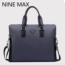Real PVC leather men outdoor handbags fashion briefcase large capacity messenger casual bags adjustable strap business bag PVC-3(China (Mainland))