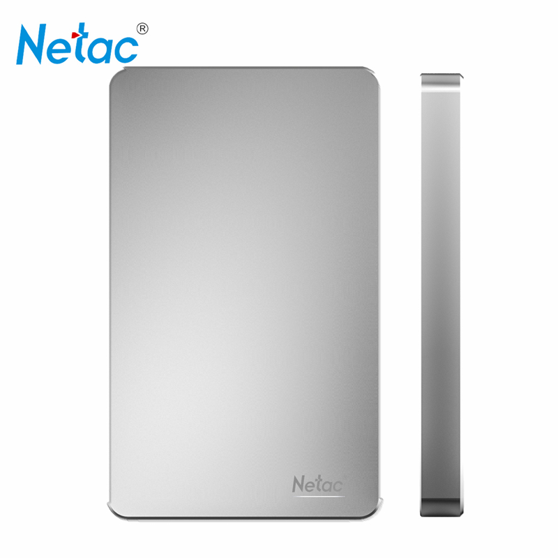 Original Netac K330 USB 3.0 Hard Disk 1TB 500GB HDD External Hard Drive Metal Body HDD 1tb with Retail Packing(China (Mainland))