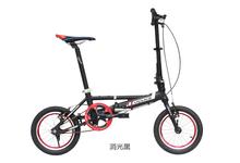 Free shipping 14-inch folding bicycles double disc aluminum fahrrad adult mini bike folding bike(China (Mainland))