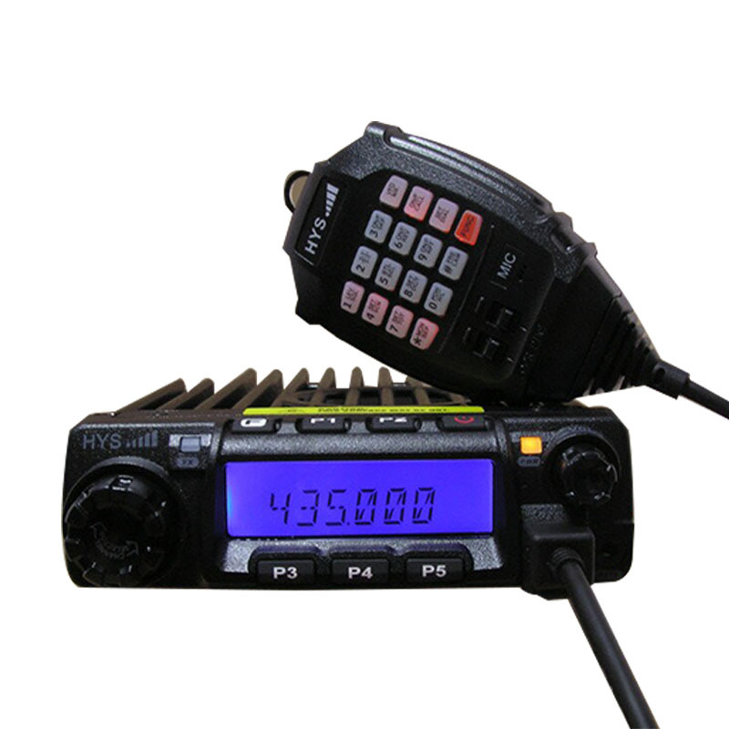 HYS TC-135 60w Car walkie-talkie High power Car Radio Mobile Transceiver with DTMF Microphone(China (Mainland))
