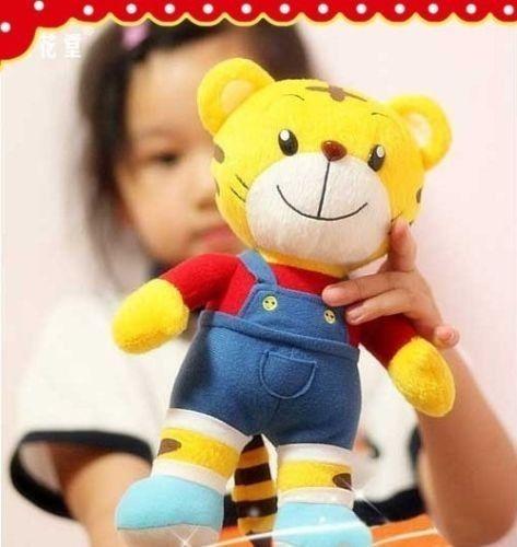 plush toy red QiaoHu tiger stuffed doll birthday gift bedtime story friend 1pc(China (Mainland))