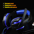 High Quality Gaming Headphone USB 3 5mm PC Glowing Wired Head Phones LED Light Headset auriculares