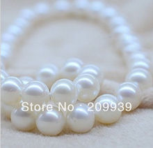 """huij 001721 HUGE 18""""15MM PERFECT SOUTH SEA GENUINE WHITE PEARL NECKLACE 14K(China (Mainland))"""