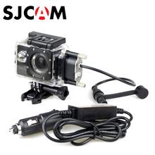 Caja Estanca para Original SJCAM SJ5000 SJCAM Motocicleta Serie para SJ4000 Series Estuche Cargador para SJ5000X Plus WiFi