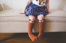 Kids Fox Socks knee high Toddler Boot Sock leg warmer Totoro socks Girl Collant enfant Children Chaussette Cute Moustache Socks(China (Mainland))