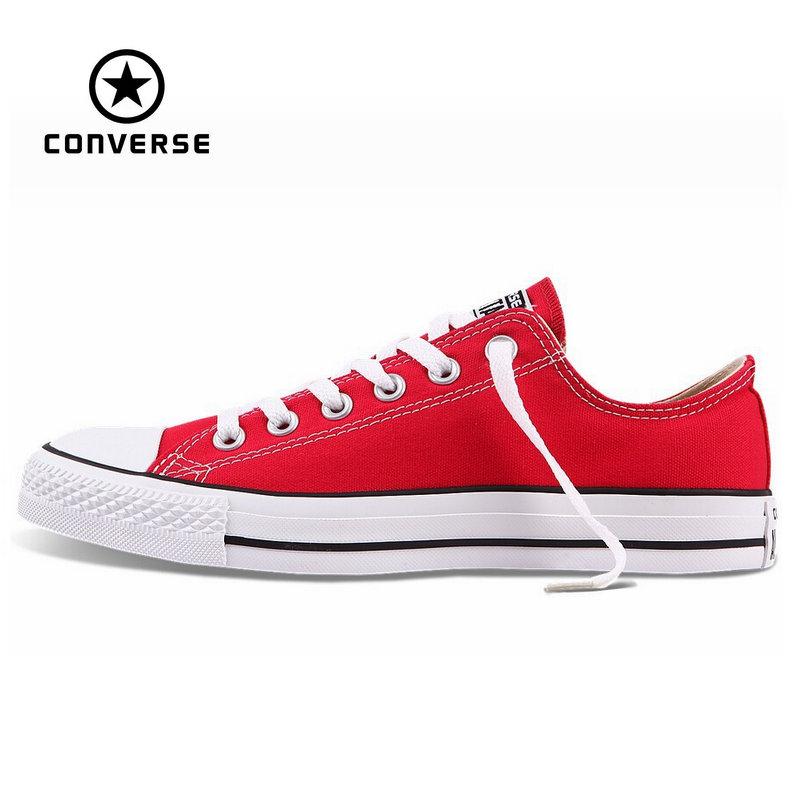 converse rouge et blanc