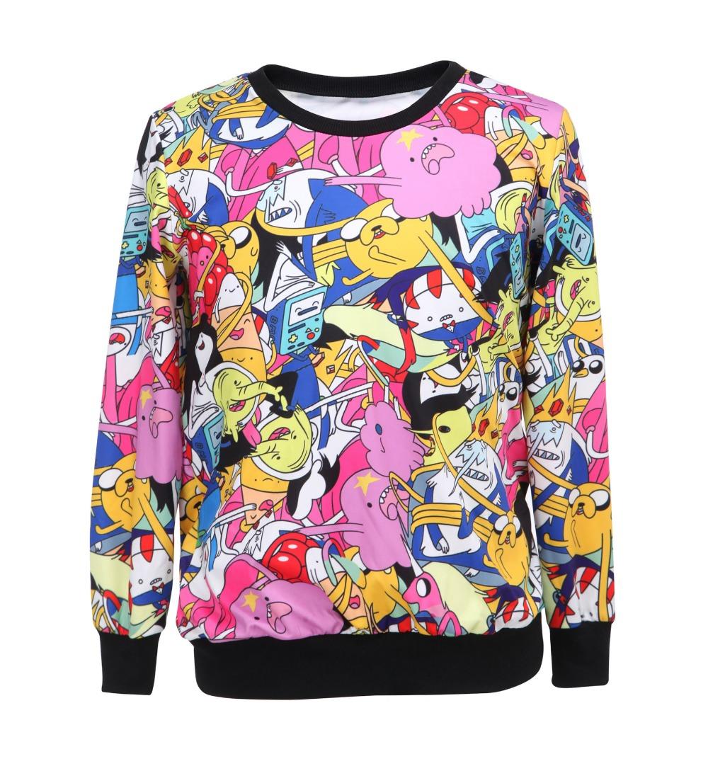 2015 automne mode femmes sport hoodies mignon de bande - Mode de livraison suivi ...