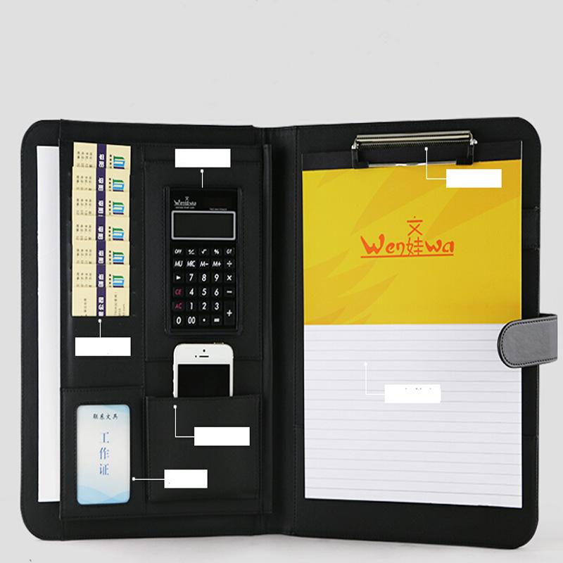 Carpeta de archivo a4 para documentos titulares piel for Carpetas para oficina