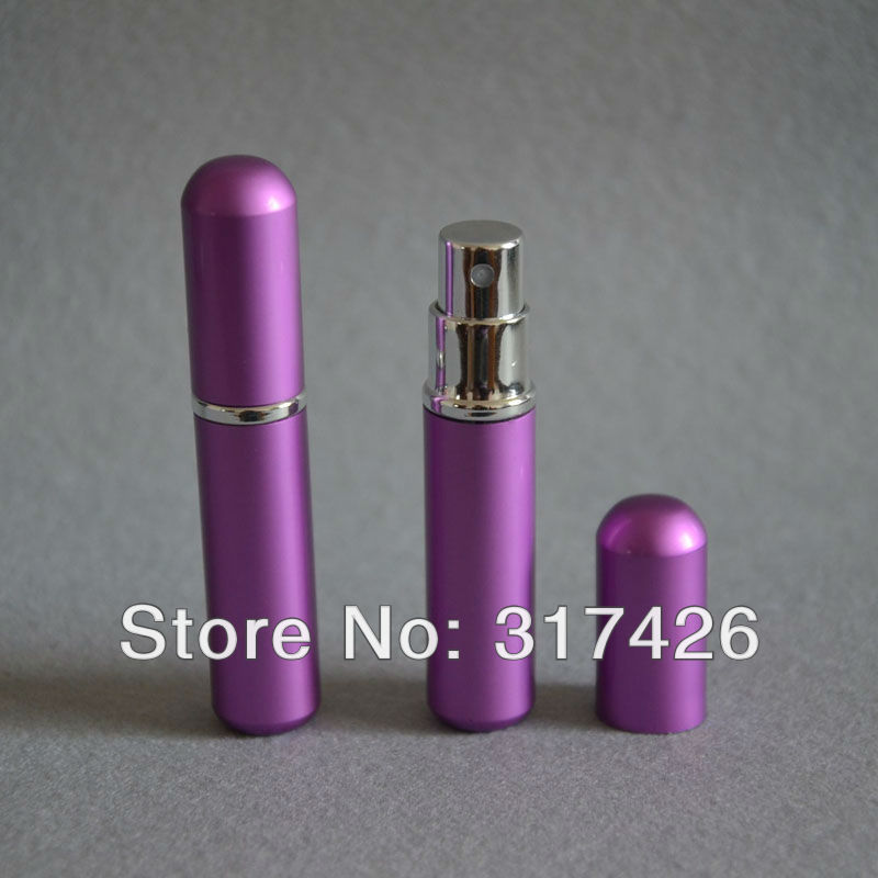 Free Shipping- wholesale 3ml aluminum perfume bottle, Amazing Travel Perfume Atomizer, Refillable Spray,empty metal spray bottle(China (Mainland))