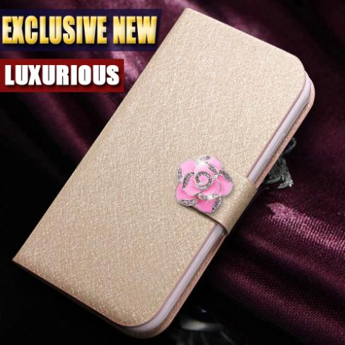 Luxury Fashion Style Flip Leather PU Case For Samsung Galaxy Grand Duos i9082 I9080 9082 Back Cases Cover Good Quality(China (Mainland))