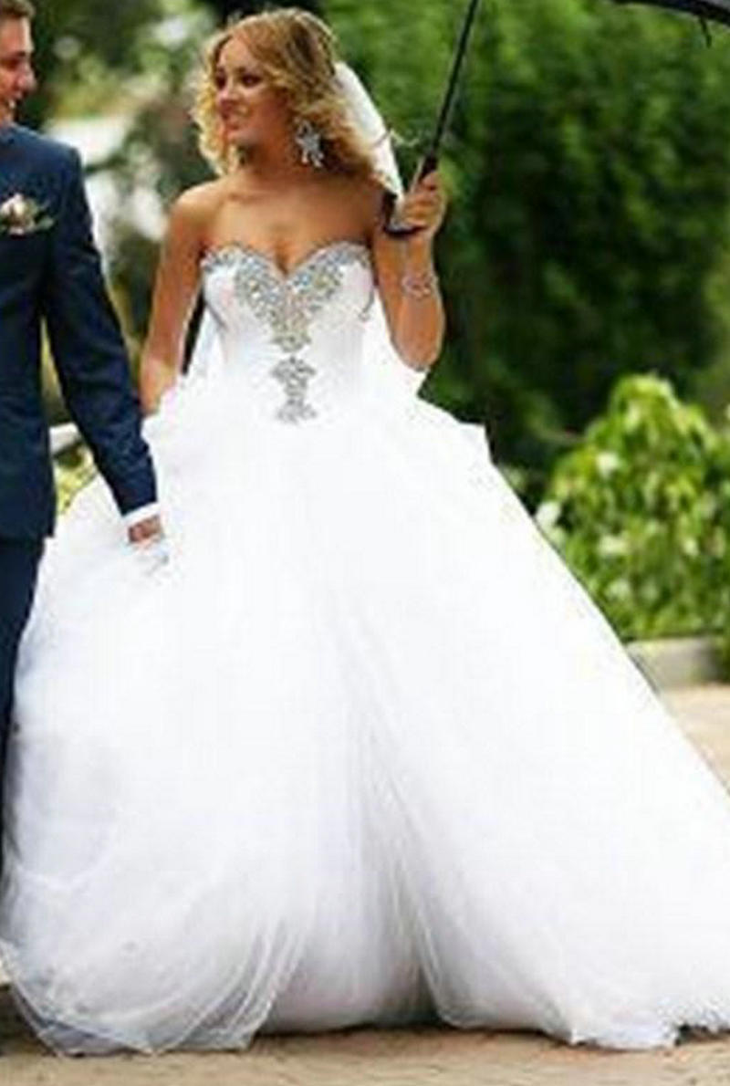 sweetheart gown wedding dresses