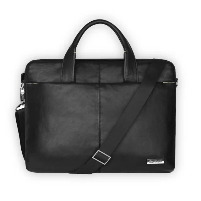 2015 New 15 15.6 Laptop Bags Big Promotion Wax Leather Man Bag Handbag Men's Bags Men Messenger Casual Shoulder Briefcase Black(China (Mainland))