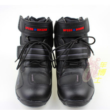 Motorcycle Boots Pro biker SPEED Moto Racing Motocross Motorbike Shoes A005 Black/White/Red size 40-45