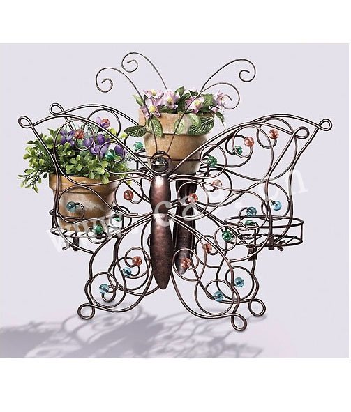 Garden Decor Metal Flower Stand Iron Plant Holder(China (Mainland))