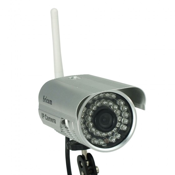 imonic sricam waterproof outdoor ip camera with ir. Black Bedroom Furniture Sets. Home Design Ideas