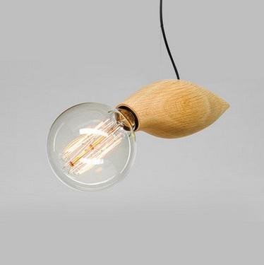 Фотография Creative personality Wood bee loft pendant lamp, Led pendant lamp For home lighting bar ,1 Light E27 Bulb Included