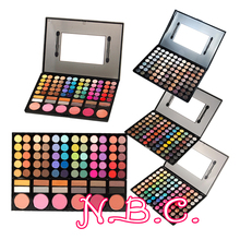 Hot sale Pro 120 Full Color Eyeshadow Palette Eye Shadow Makeup 4 styles Options For eye Make Up Party Show(China (Mainland))