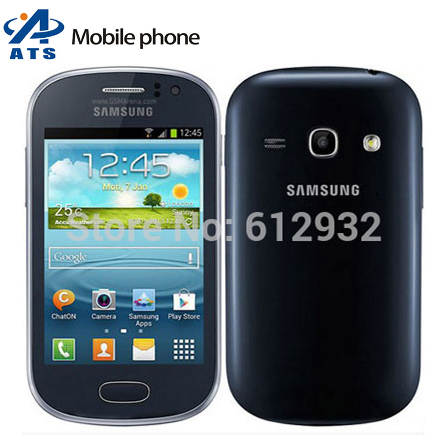 S6810 Original Samsung Galaxy Fame S6810 Mobile Phone Andriod 3G WIFI GPS 3.5inch Touch screen Free Shipping(China (Mainland))